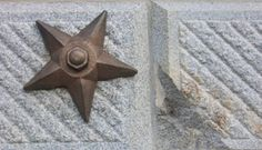 South Carolina State House has 6 bronze stars marking the locations of where the State House was hit by artillery on Feb 19, 1865 from the south side of the Congaree River. #southcarolina #history #education #travel #civilwar