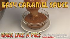 I'll show you how to make a simple, easy caramel sauce at home. Please SUBSCRIBE: ► http://bit.ly/1ucapVH  Simple ingredients - heavy cream, sugar and butter, make this amazing caramel that goes well on ice cream !  So let's get started on this super yummy home made caramel sauce !  My Facebook Page: http://www.facebook.com/BakeLikeAPro  Please subscribe, like and share if you can, I do appreciate it. ► http://bit.ly/1ucapVH  #caramel #recipe #recipeshare #baking #chocolate #cakes #cupcakes