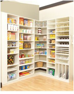 Kitchen Pantry Storage Systems | Pantry Organization |