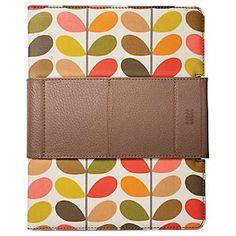 Orla Kiely Multi Stem Print Folio Case for iPad 2
