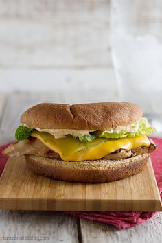Santa Fe Grilled Chicken Sandwich Recipe