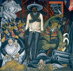 Jose Clemente Orozco (Pintor mexicano) Murals at Dartmouth.
