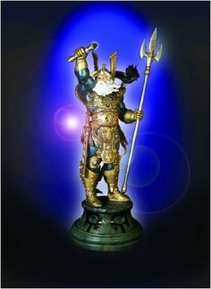Randy Bowen's Odin Statue by Bowen Designs. $301.47. Originally released in 2008.. Over 19in tall!. Odin By Bowen Designs!. The King of Asgard Odin the All Father!. A Bowen Designs Release! Out of the misty realm of legend strides Odin - gather to Thor, King of Asgard, and Lord of the Norse Gods! From the fertile imagination of master sculptor Randy Bowen comes an original design of a timeless mythological icon - Odin! This unique interpretation incorporates elements fr...