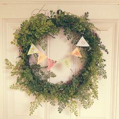 My Spring Wreath -DIY