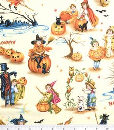 Holday Inspirations-Vintage Halloween : holiday fabric : fabric :  Shop | Joann.com