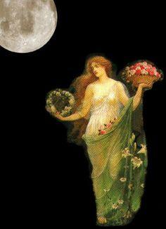 Walter Crane, She Walks In Beauty