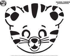 Daniel Tiger Pumpkin Carving Template . Happy Halloween! . PBS Parents | PBS