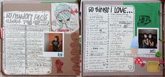Love this idea: 50 things I love