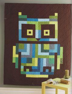 Owl Quilt design