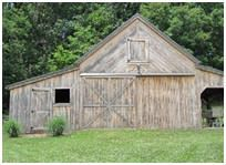 Pole sheds and barns on pinterest 35 pins for Pole barns tennessee