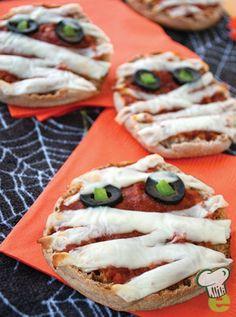 Pizza Muffin Mummies