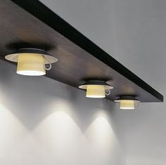 Teacup lights - this is a new take on it - again a bit contemporary look on what is often shabby chic / cottage style idea - upcycle dishes - teacups and saucers