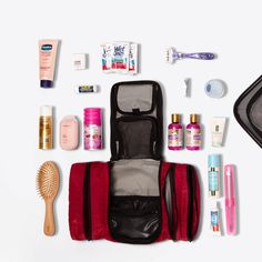 Reclaim your space with our best-selling toiletry kit that packs as flat as a pair of jeans.