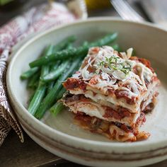 Recipe for Roasted Vegetable Lasagna   Lia Griffith
