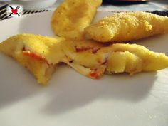 Sofficiotti con pomodoro e mozzarella cotti al forno