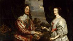 oil paintings, 17th centuri, henrietta maria, laurel wreath, coqu