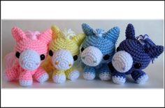 Cotton Candy Horse - Crochet