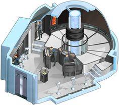 Engineering section of U.S.S. Rhode Island, NCC-72701