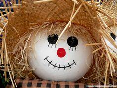 scarecrow pumpkin