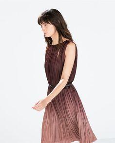 ZARA - WOMAN - OMBRE DRESS WITH BELT