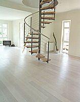 maple engineered hardwood floor NORDIC LIGHT : WHITE BOEN PARKETT