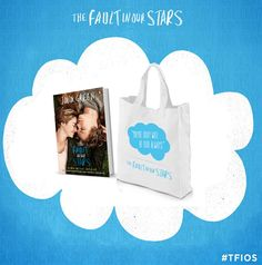 Enter to win a movie tie-in edition of The Fault in Our Stars, plus a coordinating tote to carry it around. #tfios #giveaway  http://www.entomologyofabookworm.com/2014/06/celebrate-tfios-movie-with-giveaway.html