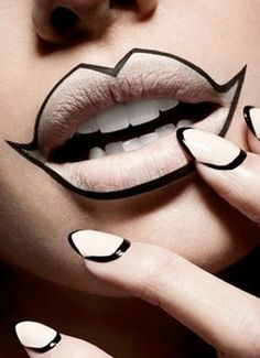 Outlined Lip