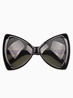 Bow Shaped Sunglasses in Black
