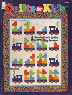 Quilts for Kids by needlecraftsupershop on Etsy, $9.99