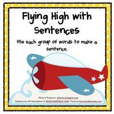 Expanding Sentences - Freebie
