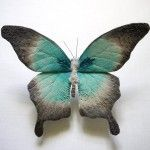 Textile Moth and Butterfly Sculptures by Yumi Okita