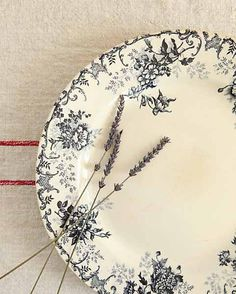 Vintage French Serving Plate