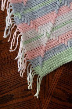 crochet navajo afghan pattern - Crochet Me