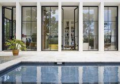 pool and windows