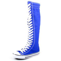 West Blvd Womens Canvas Sneakers Punk Skate Shoes Flat Lace Up Knee High Boots Skater Tall Dress Fashion Casual Designer Comfort, Royal Blue Linen, US 8 West Blvd,http://www.amazon.com/dp/B00D3A8PPG/ref=cm_sw_r_pi_dp_Ltcbsb09DBVB2NJZ