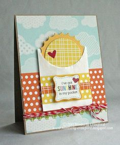 Sweet card by Kimberly Crawford from the Jillibean Soup blog