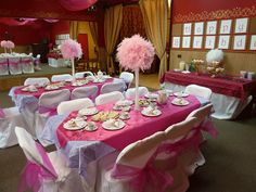 American Girl Tea Party table settings