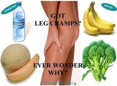 Avoid leg cramps