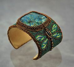 beautiful dragonfly cuff