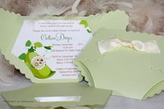 This oh-so-cute baby invitation in the shape of a diaper is such a cute idea for a very unique baby shower or it could also be used as a baby announcement by adding a picture of the new baby. so cute!