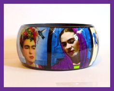 Frida+Kahlo+GALLERY+art+paintings+Artisan+by+wearablefridakahlo,+$24.99
