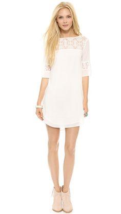 Devera white dress