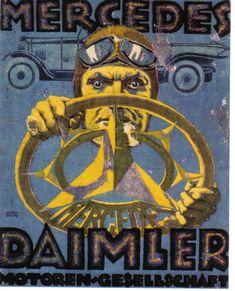 Daimler Mercedes - Benz Ad - Poster