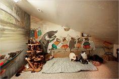 Mr Mole's attic hideout :)