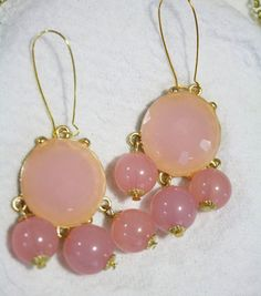 Bubble Chandelier Earrings by ilycouture on Etsy, $19.00. in lots of colors too!