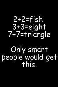 Only smart people get this
