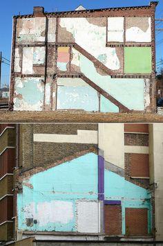"""""""Ghost Buildings"""" / Scars"""