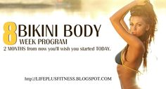 8 week program to a bikini body