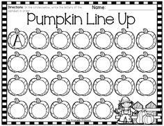 Fall and November activities for Kindergarten!