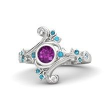 Gemvara Flamenco customizable ring